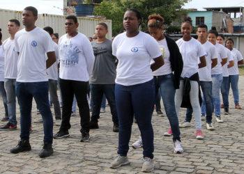 Novos Integrantes da Guarda Senior e Mirim Macaé/RJ. Data: 24/07/2015. Foto :Ana Chaffin/Prefeitura de Macaé.