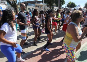 Comemoração do Dia do Trabalhador na Praça dos Navegantes, na Barra de Macaé. Macaé/RJ. Data:  01/05/2018. Foto: Guga Malheiros/Prefeitura de Macaé