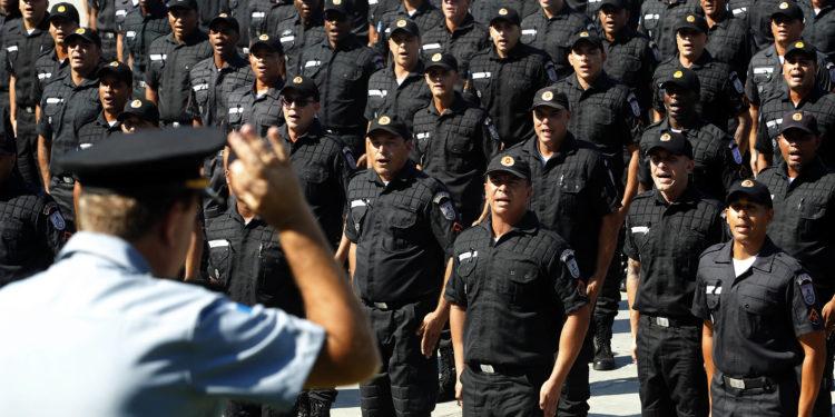 Rio de Janeiro -28/06/2019 -  Governador Wilson Witzel participa Solenidade de formatura de novos soldados policiais militares, no CEFAP. Foto Nelson Perez
